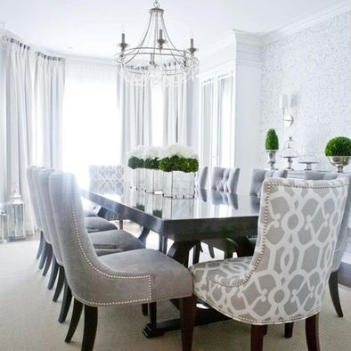Attirant Choosing A Color That Compliments The Side Chairs And Is Consistent May Be  More Appealing To You, Or If You Want More Of A Statement, Choose A  Different Hue ...